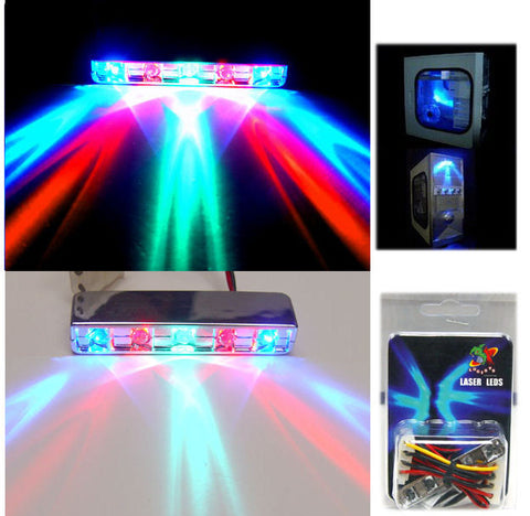 Lazer RGB Multi Color 5 LED LAZER LIGHT