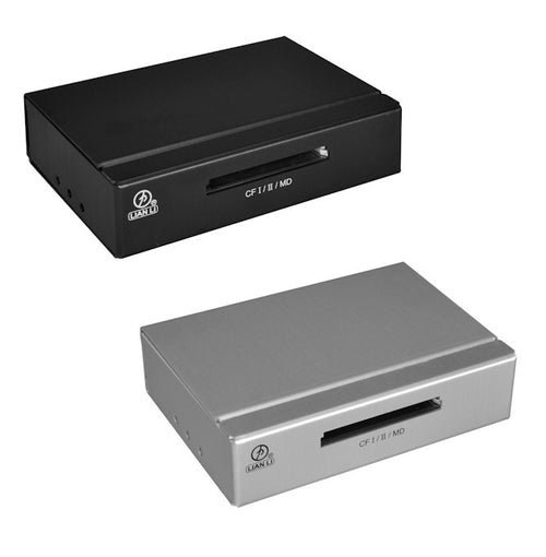"Lian Li 3.5"" High speed card Reader Silver or Black # CR-CF-01 - Coolerguys"