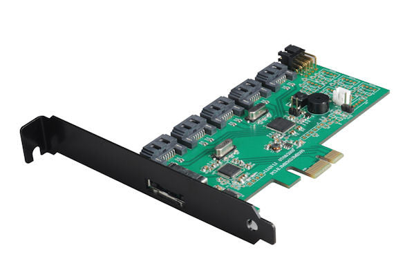 Lian Li 5 port SATA II Raid PCI-E Controller Card Model : IB-01