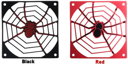 Lian Li Aluminum 140mm Spider Grill Black or Red  # PT-G06