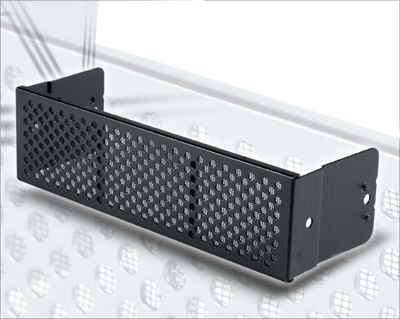 "Lian Li BZ-501B ( Black) 5.25"" Bezel Mesh Cover Vent and Filter (set of 4)"