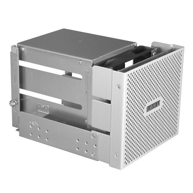 Lian Li Internal HDD Extension Cage: Model : EX-33A1 (Silver) - Coolerguys