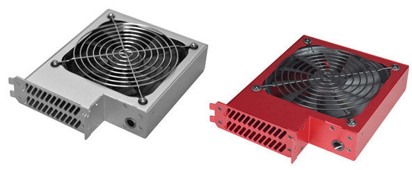 Lian Li Internal PCI Slot Cooler: Model BS-07A (Silver or Red)