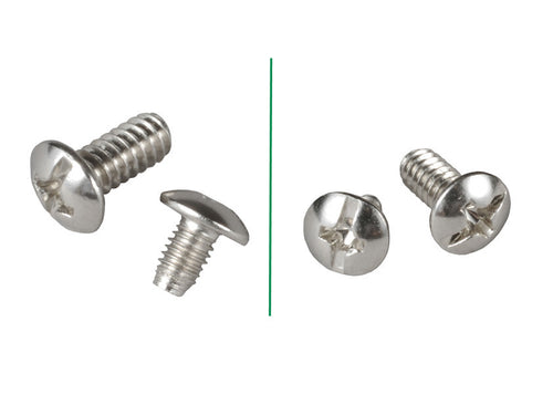 Lian Li Pan Head Screws M3 and #6 (40 pcs)  Model: S-U01 (Silver) - Coolerguys