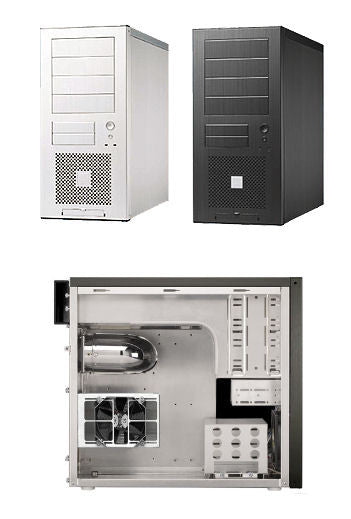 Lian Li PC-60 Plus II Aluminum Case Silver only - Coolerguys