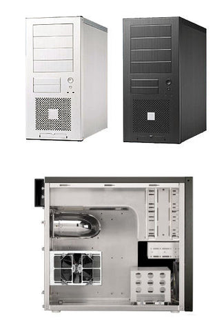 Lian Li PC-60 Plus II Aluminum Case Silver only