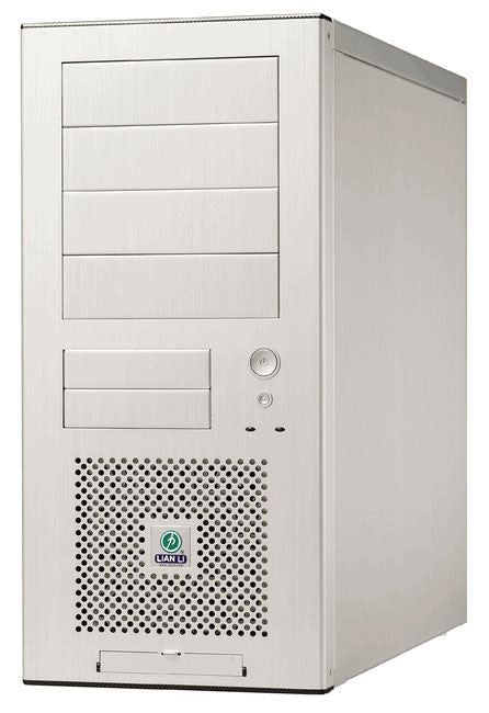 Lian Li PC-7A PLUSII MID TOWER / Silver Aluminum with  Window - Coolerguys