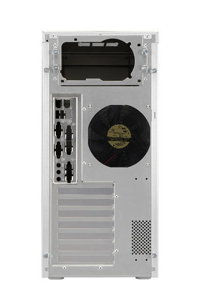 Lian Li PC-7A PLUSII MID TOWER / Silver Aluminum with  Window