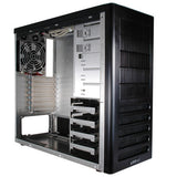 Lian Li PC-7FB Aluminum Mid Tower case Black  optional window