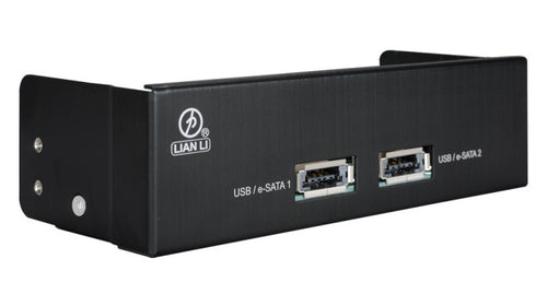 Lian Li Power E-sata combo high speed port # BZ-U05 Black - Coolerguys