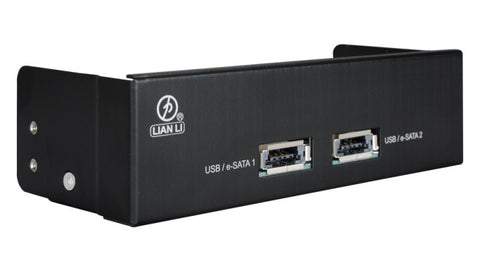 Lian Li Power E-sata combo high speed port # BZ-U05 Black