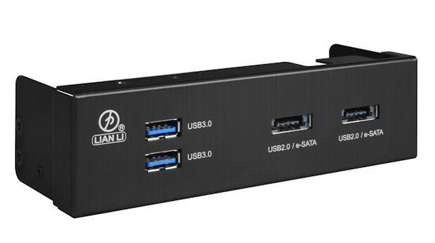Lian Li Power e-SATA Combo High-speed USB Port BZ-U07B (Black)