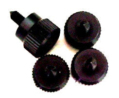 Lian Li Thumb Screws -- Black  (Sets of 4)