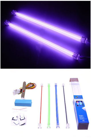 Logisys 12 inch Dual Purple Cold Cathode Kit  #  CLK12PL2