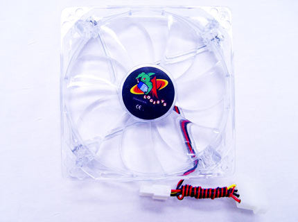 Logisys 120mm Red Quad LED Case Fan Model #: CF120RD