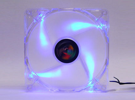 Logisys 140mm Blue Quad LED Fan  Model #: CF140BL