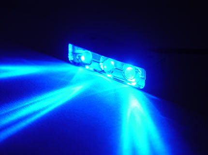 Logisys 3 LED Blue Lazer light #MDLED1BL