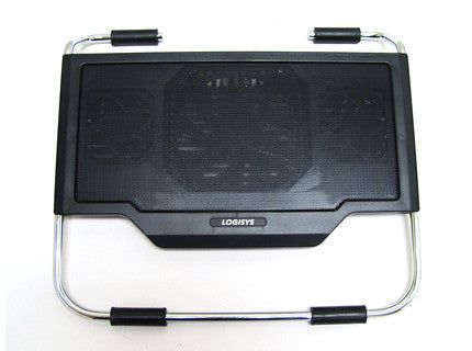 Logisys Laptop Cooling Stand w/ Blue LED  NP2000BK