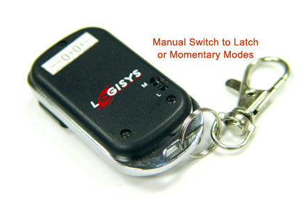 Logisys Remote Momentary 4 Channel Remote Control Relay Switch RM04X