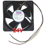 Mechatronics 120mm x 38mm 24 volt fan with LOCKER ROTOR ALARM SIGNAL F1238X24B2-FSR