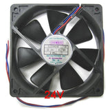 Mechatronics 120x120x25mm 24 volt high speed fan #G1225E24B-FSR