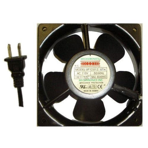 "Mechatronics 120x120x25mm High Speed AC Fan ""UF12B12-BTHR"""