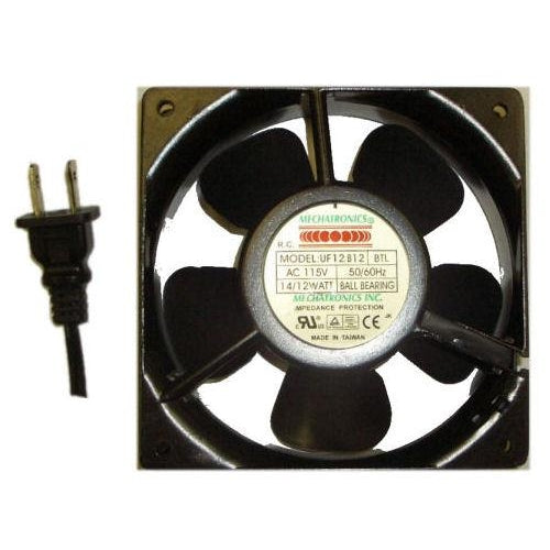 Mechatronics 120x120x25mm Low Speed AC Fan UF12B12BTL - Coolerguys