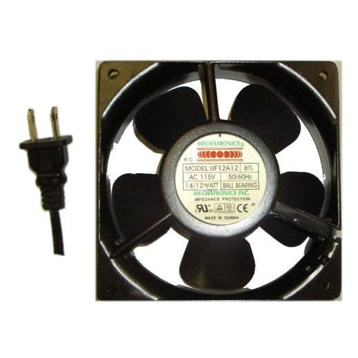 "Mechatronics 120x120x38mm Low Speed AC fan  ""UF12A12-BTLR"""