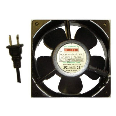 "Mechatronics 120x120x38mm Low Speed AC fan  ""UF12A12-BTL"""