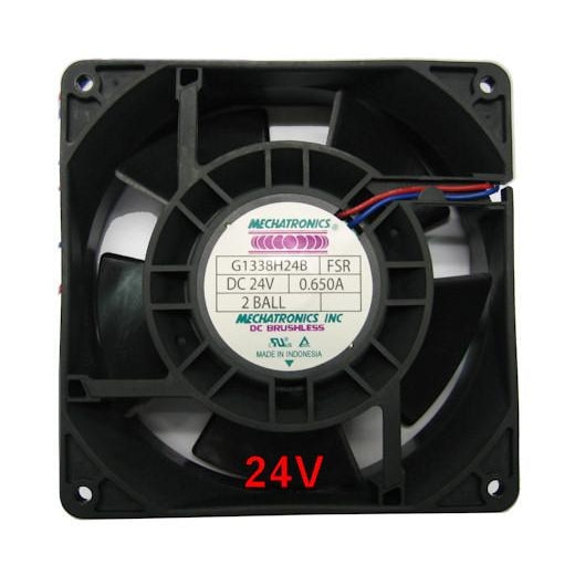 Mechatronics 127x127x38mm 24 Volt High Speed Fan G1338h