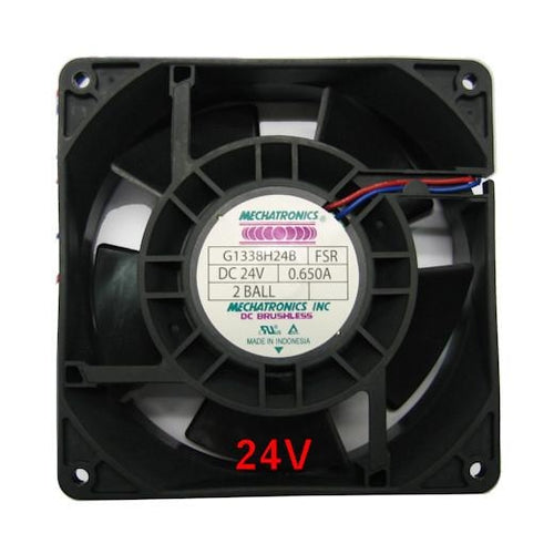 Mechatronics 127x127x38mm 24 Volt High Speed Fan G1338H - Coolerguys