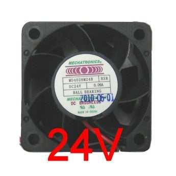 Mechatronics 40 x 40 x 28mm Medium Speed 24 Volt Fan MD4028M24B