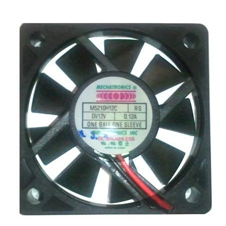 Mechatronics 52x52x10mm 12V High Speed Fan M5210H12C-RSR - Coolerguys