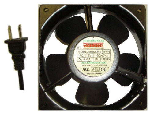Mechatronics 60x60x30mm AC FAN  UF60D12 / with 36 inch power cord