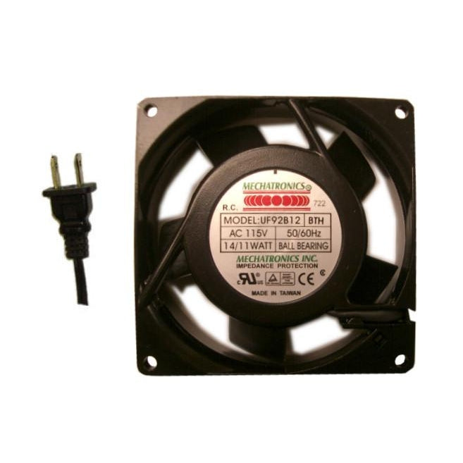 Mechatronics 92x92x25mm High-Speed AC Fan UF92B12-BTHR - Coolerguys