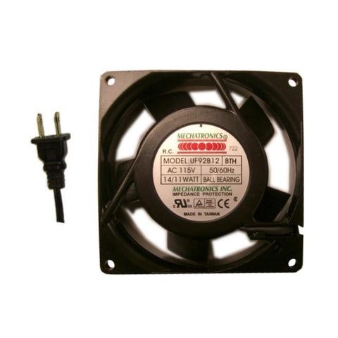 Mechatronics 92mm X 25mm High speed AC Fan #UF92B12-BTHR