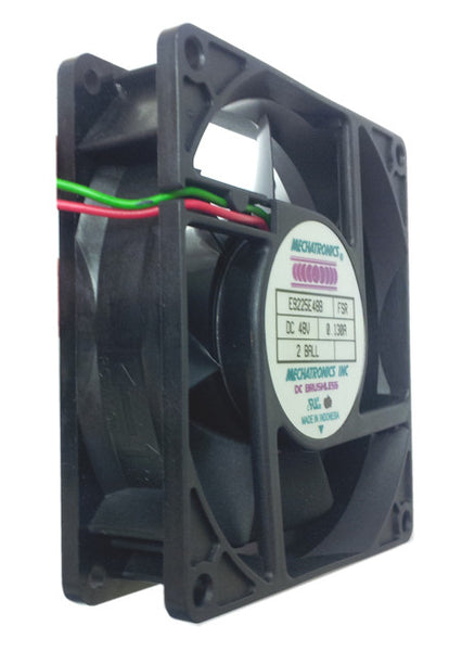 Mechatronics 92x92x25mm 48 volt high performance fan w/Locked Rotor Alarm Signal #E9225E48B-FSR