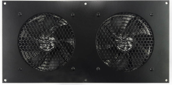 Coolerguys Dual 120mm Fan Cooling Kit with Programmable Thermal Controller