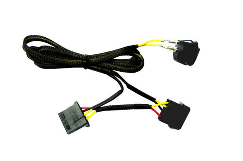 Molex 4 Pin on/off Power Switch 12V and 5V DC - Coolerguys