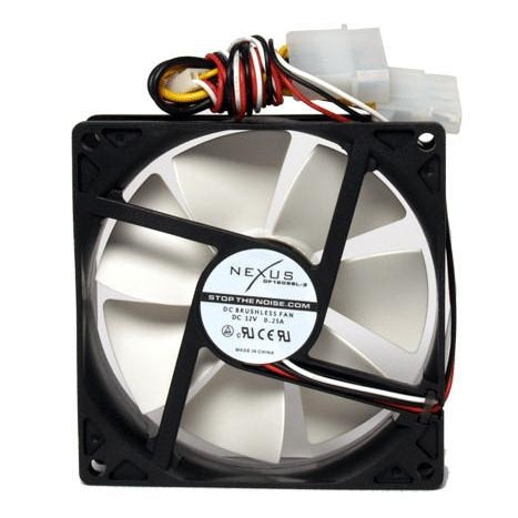Nexus 80x80x25mm Real Silent Case Fan SP802512L-03 - Coolerguys