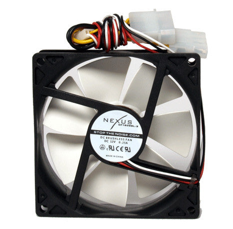 Nexus 92x92x25mm Real Silent Case Fan DF1209SL-3 - Coolerguys