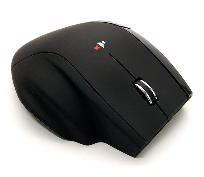 Nexus Silent Mouse with double scroll wheel Black SM-5000B - Coolerguys