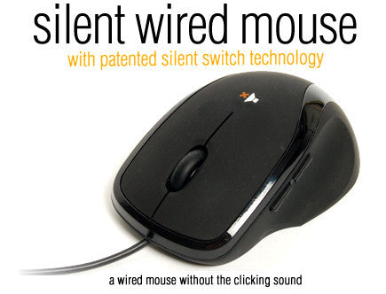 Nexus Silent wired mouse # SM-8500 - Coolerguys