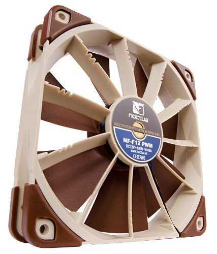 Noctua Fan NF-F12 PWM Fan with Focused Flow SO2 Bearing