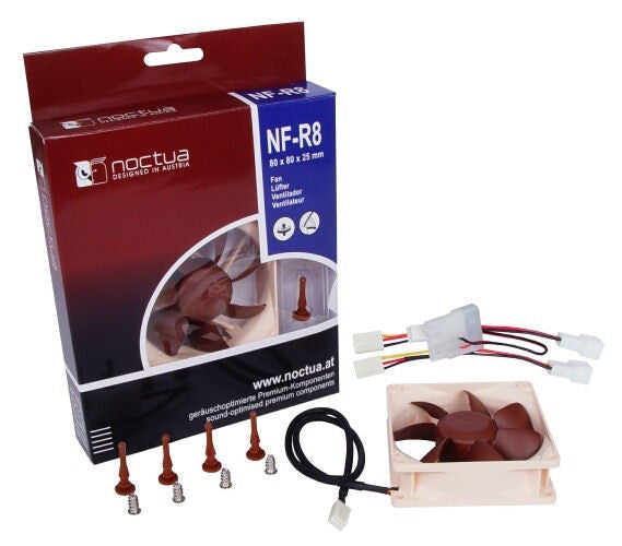 Noctua NF-R8 80x80x25mm Fan / Silent Heat Killer