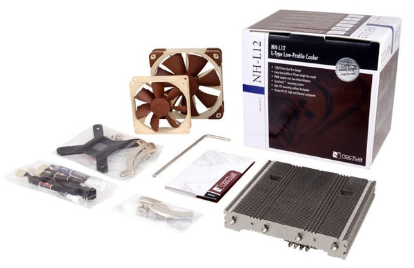 Noctua NH-L12 Low profile CPU Cooler with Dual Fan Design