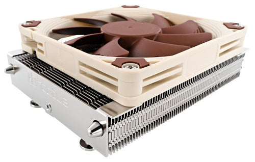 Noctua NH-L9a L-Type Low Profile Quiet CPU Cooler for AMD including AM4 socket (Ryzen) - Coolerguys