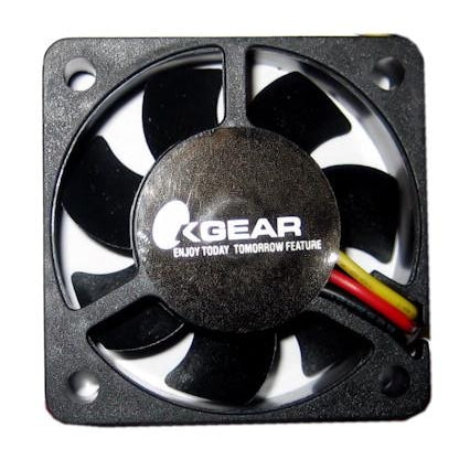 OKgear 40X40X10mm Medium Speed Ball Bearing 3 Pin Fan-DFC401012M - Coolerguys