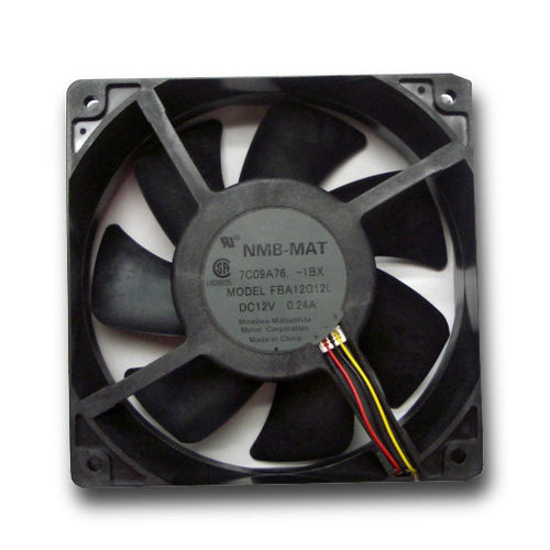 Panaflo NMB-MAT 120x120x38mm 12v Low Speed Fan FBA12G12L1BX - Coolerguys