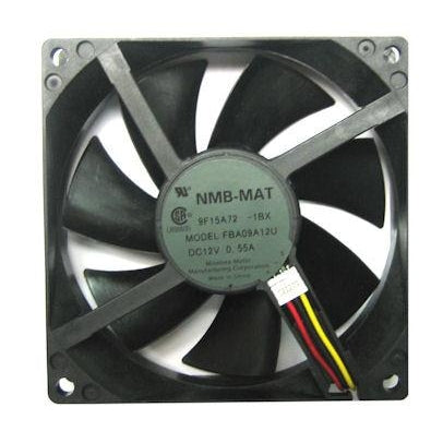 Panaflo NMB MAT 92x92x25mm Ultra High Speed Hydro-Wave with RPM Sensor FBA09A12U1BX - Coolerguys
